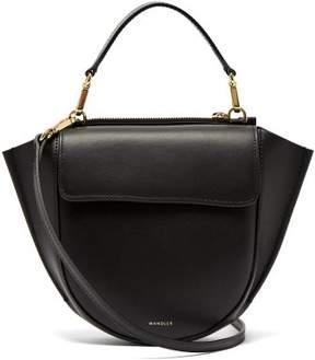 Hortensia Wandler Mini Leather Cross Body Bag - Womens - Black