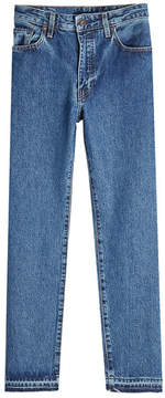 Levi's Levis Made & Crafted Straight Cropped Jeans