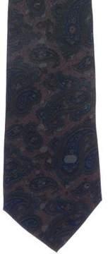 Gucci Paisley Print Silk Twill Tie