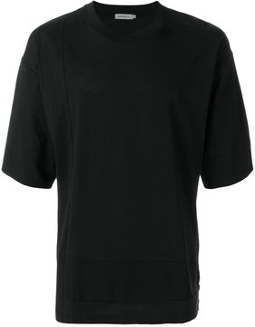 Calvin Klein Jeans oversized panel stitch T-shirt