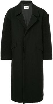 Monkey Time Long Single-Breasted Coat