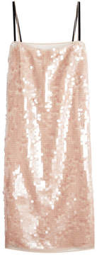 N°21 N21 Sequin-Embellished Silk Dress