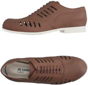 Jil Sander Navy Lace-up shoes