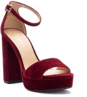 Candies Candie's Gowns Women's Velvet Platform Heels