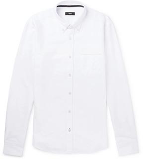 HUGO BOSS Button-Down Collar Cotton Oxford Shirt