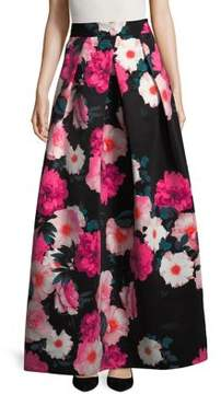 Eliza J Floral Pleated Skirt
