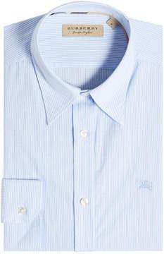 Burberry Striped Cotton Shirt