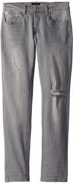 Hudson Jude Slim Straight Jeans in Ice Grey Boy's Casual Pants