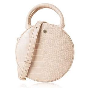 Co The Lovely Tote Women's Fashion Crocodile Circle Crossbody Bag (