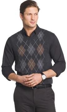 Van Heusen Men's Classic-Fit Argyle Sweater Vest