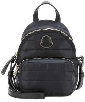Moncler Leather-trimmed shoulder bag