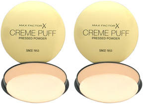 Max Factor Gay Whisper Creme Puff Foundation - Set of Two