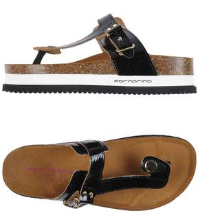 Fornarina Toe strap sandals