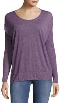 Bobi Drop-Shoulder Textured Tee
