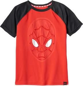Spiderman Boys 4-7x Marvel Hero Elite Series Collection for Kohl's 3D Metallic Tee