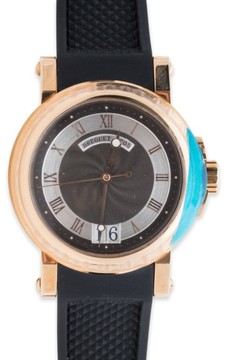 Breguet Marine Big Date 5817BR/Z2/5V8 Automatic 18K Rose Gold Watch