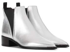 Acne Studios Jensen metallic leather ankle boots
