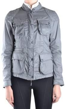 Brema Women's Grey Cotton Outerwear Jacket.