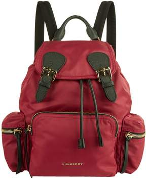 Burberry Buckled Rucksack - PINK - STYLE