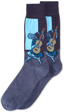 Hot Sox Old Guitarist Crew Socks