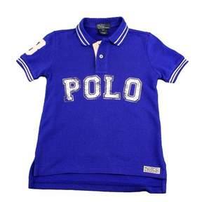 Polo Ralph Lauren Boy's 1/2 Classics Blue Cotton Polo T-Shirt Sz. 4T