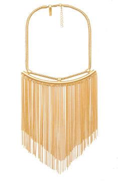 Rachel Zoe Georgie Fringe Collar Necklace