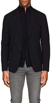 Giorgio Armani Men's Stretch-Wool-Blend Two-Button Sportcoat