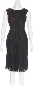 Cacharel Ruched Midi Dress
