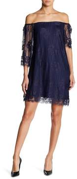 Collective Concepts Fitted Lace Dress