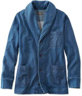 L.L. Bean L.L.Bean Signature Shawl Cardigan Sweatshirt, Long-Sleeve
