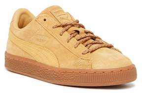 Puma Basket Classic Winterized Suede Sneaker (Little Kid)