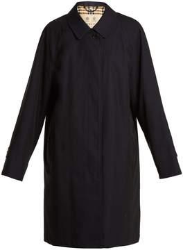 Burberry Point-collar cotton-gabardine coat