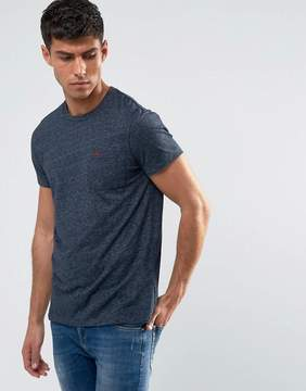 Jack Wills Ayleford Slim Fit Pocket T-Shirt In Navy