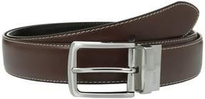 Steve Madden 35mm Casual Feather Edge Reversible Belt Men's Belts