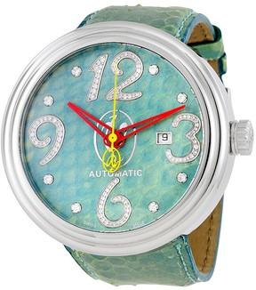 Jacob & co Jacob and Co. Valentin Yudashkin Turquoise Python Diamond Men's Watch