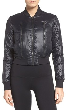 Alo Women's Off-Duty Bomber Jacket