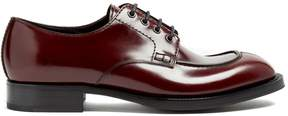 Prada Lace-up leather derby shoes