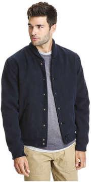 Joe Fresh Men's Baseball Jacket, JF Midnight Blue (Size S)