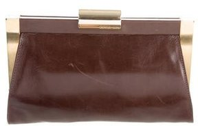 Michael Kors Runway Clutch - BROWN - STYLE
