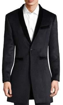 John Varvatos Classic Shawl Collar Coat
