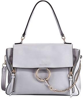 Chloé Faye Day Mixed Flap Shoulder Bag