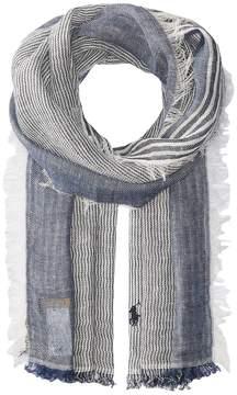 Polo Ralph Lauren Classic Linen Stripe Scarf Scarves