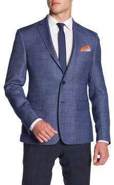 Nordstrom Wool Linen Trim Blazer