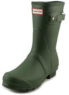 Hunter Short Round Toe Rain Boot.