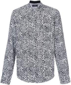 Amiri leopard print shirt