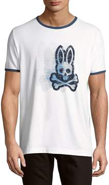 Psycho Bunny Men's Bunny Cotton Tee