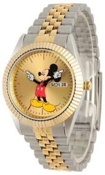 Disney Mickey Mouse 2-Tone Bracelet Watch