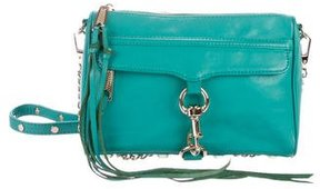 Rebecca Minkoff Leather M.A.C. Crossbody Bag - GREEN - STYLE