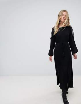 Moon River Lace Maxi Dress