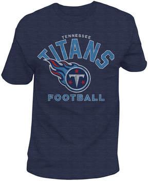 Authentic Nfl Apparel Men's Tennessee Titans Midfield Retro T-Shirt
